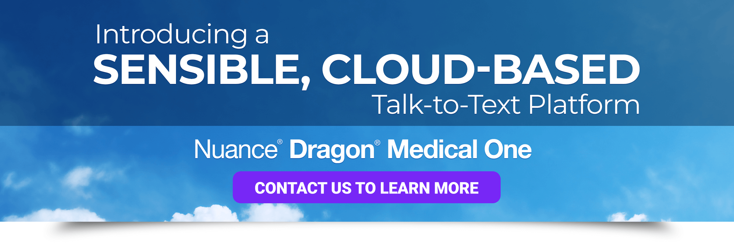 Introducing a sensible, cloud-based talk-to-text platform - Dragon Medical One