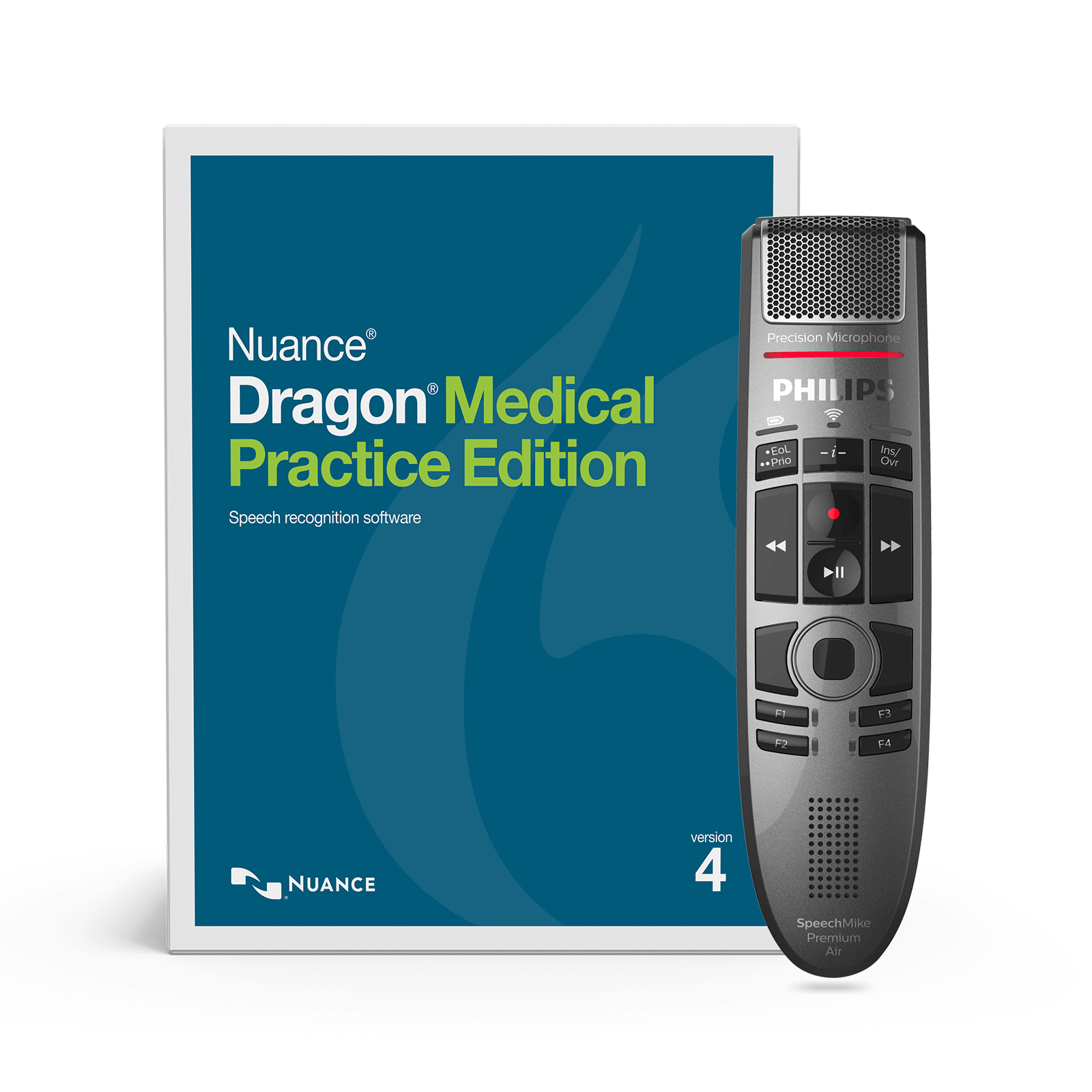 SpeechMike Premium Air & Dragon Medical Practice Edition